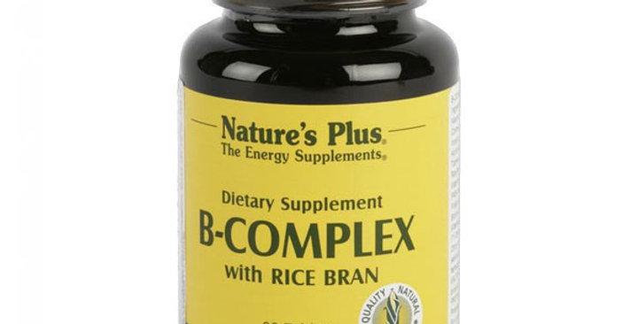 B-COMPLEX NATURE'S PLUS, 90 COMP.