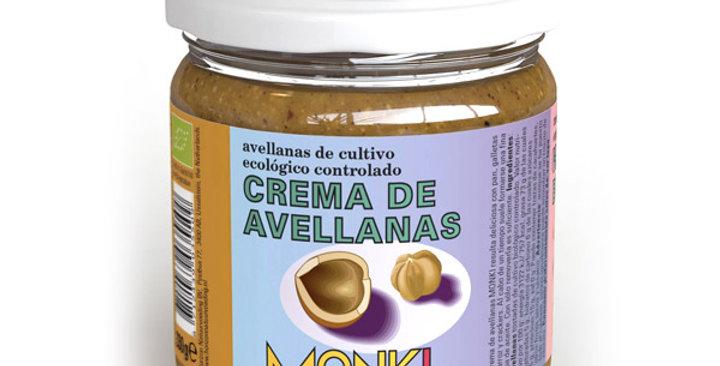 CREMA DE AVELLANAS MONKI 330 GR.