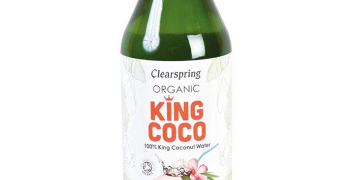AGUA DE COCO  ORGANIC KING COCO CLEARSPRING 350ML