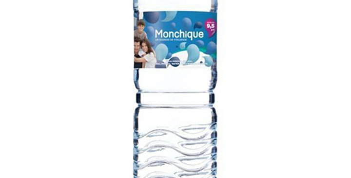 Agua mineral alcalina ph9,5