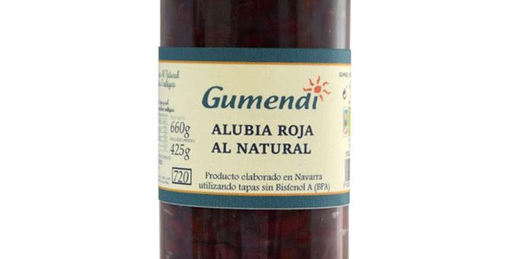 Alubia roja al natural, Gumendi 660 gr