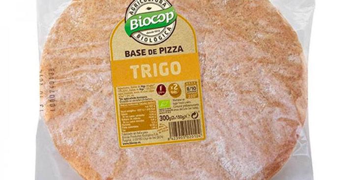 BASE PARA PIZZA DE TRIGO BIOCOP 300 GR.
