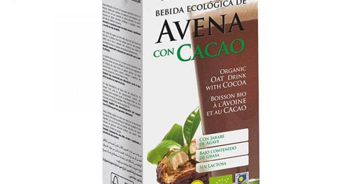 Bebida de Avena con Cacao,  AMANDIN 1L.