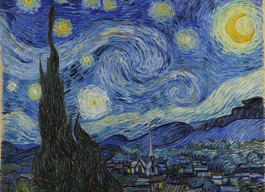 Vicent van Gogh - Starry Night copia 2.j