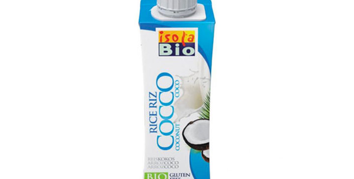 BEBIDA DE ARROZ Y COCO ISOLABIO 250 ML.