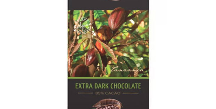 CHOCOLATE 85%  EXTRA DARK CACHET 100 GR.