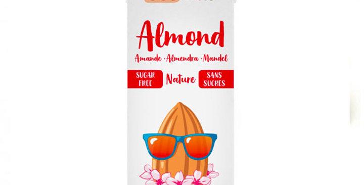 Bebida de Almendra sin azúcar,  ECOMIL 1L.