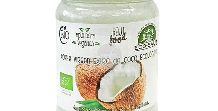 Aceite coco virgen ecosalim 430 ml.