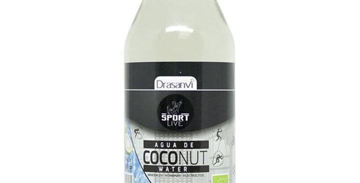 Agua de coco bio sport live drasanvi 350ml.