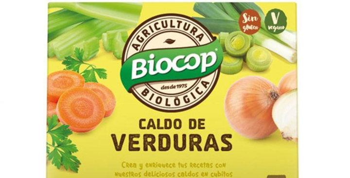 CALDO DE VERDURAS EN CUBITOS BIOCOP 6X10 GR.