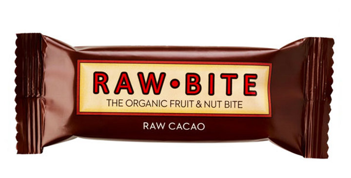 BARRITA DE CACAO RAW BITE 50 GR.