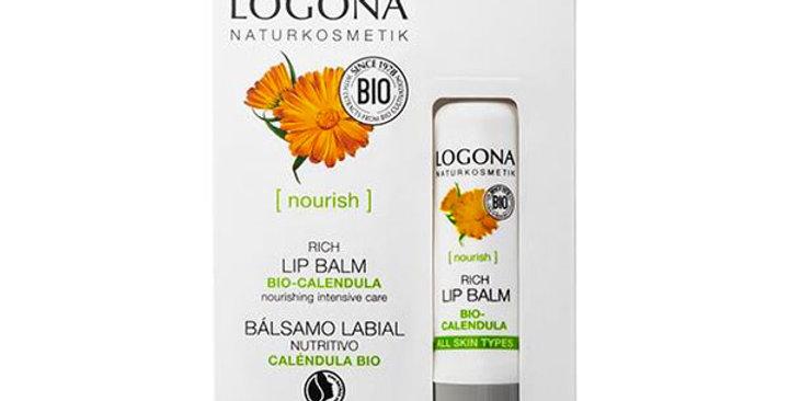 BALSAMO LABIAL NUTRITIVO DE CALÉNDULA LOGONA 4,5 GR.
