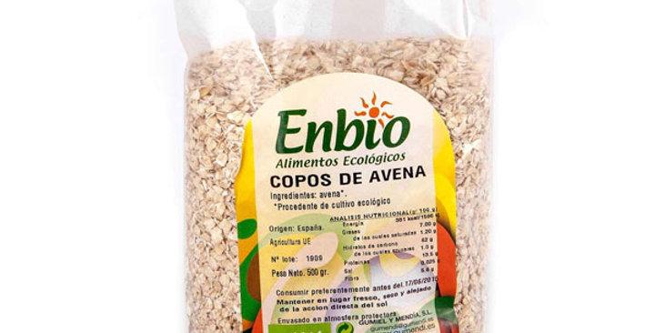 COPOS DE AVENA FINOS  ENBIO 500 GR.