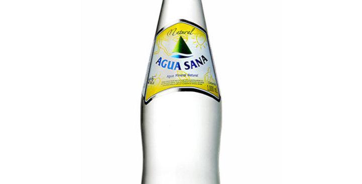 Agua mineral agua sana 1l.