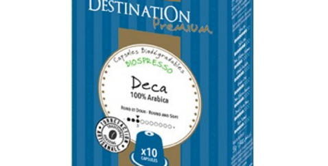 CAFÉ DESCAFEINADO SELECCION Nº9  DESTINATION 10 CAPSULAS