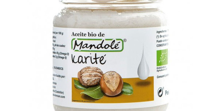 Aceite de karite mandole 250 gr.