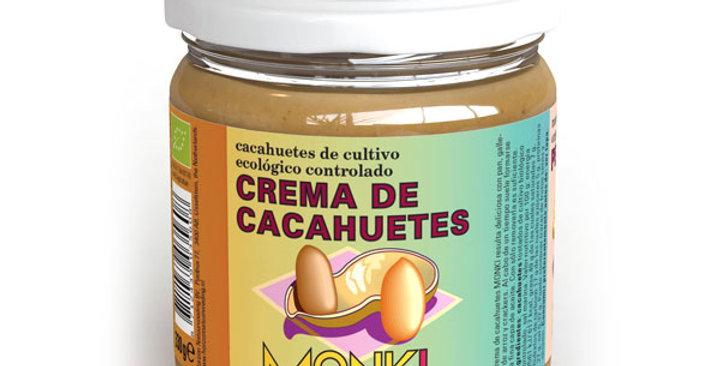 Crema de Cacahuete, Monki 330 gr