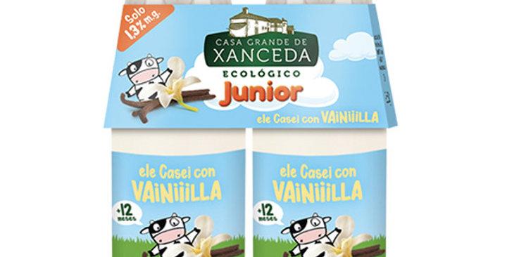 ELE CASEI CON VAINILLA CASA GRANDE DE XANCEDA  2 X 165 GR.