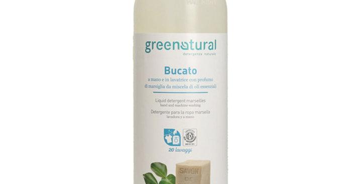 Detergente para Ropa Lavadora y a Mano Marsella Greenatural 1 L.