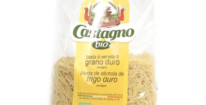 FIDEOS Nº4 TRIGO DURO CASTAGNO 500 GR.