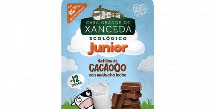 NATILLAS DE CACAO JUNIOR XANCEDA 90 GR.