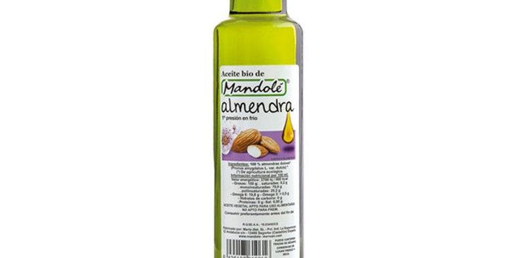 Aceite de almendra mandole 250 ml.