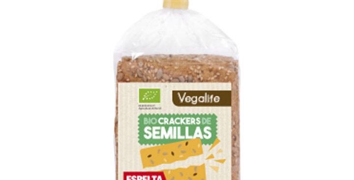 Cracker espelta con semillas Vegalife 200 Gr.