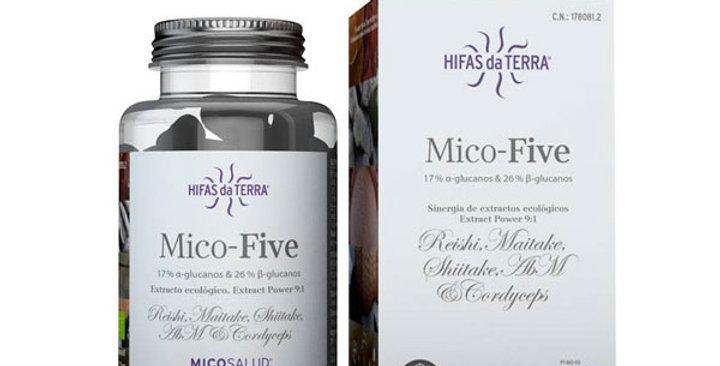 MICO FIVE EXTRACTOS DE 5 HONGOS HIFAS DA TERRA 70 CAPSULAS