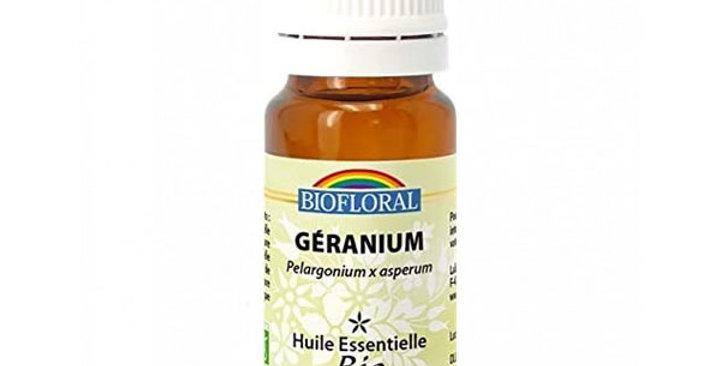 ACEITE ESENCIAL DE GERANIO BIOFLORAL 10 ML.