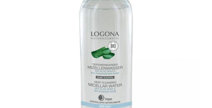 Agua Micelar Aloe y Rosas, Logona 125 Ml.
