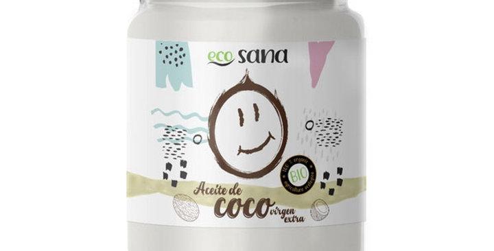 ACEITE DE COCO VIRGEN ECO SANA 200 ML.