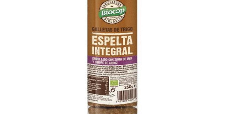 GALLETAS DE ESPELTA INTEGRAL BIOCOP 250 GR.