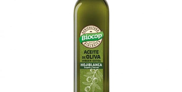 ACEITE DE OLIVA VIRGEN EXTRA HOJIBLANCA BIOCOP 0,75L.
