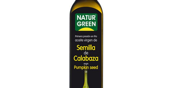 Aceite de semillas de calabaza Naturgreen 500ml.