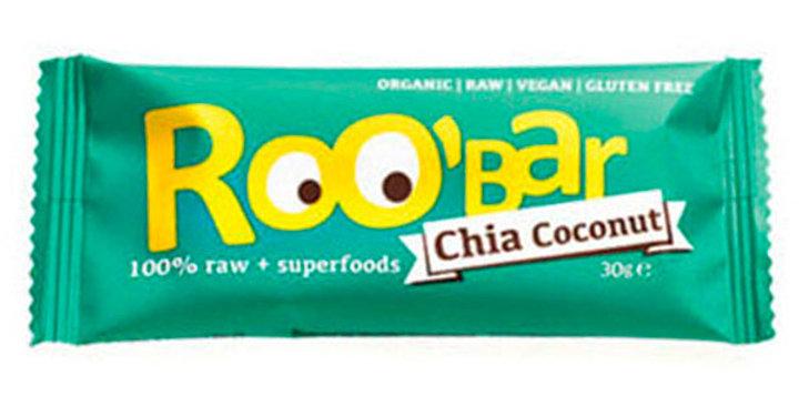 Barrita Raw de Chia y Coco