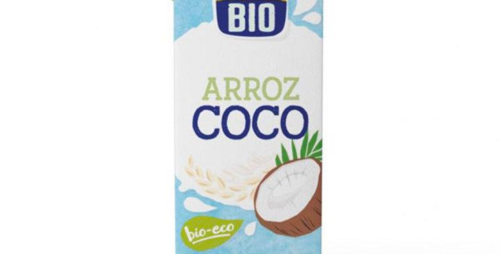 BEBIDA DE ARROZ CON COCO ISOLABIO 1L.