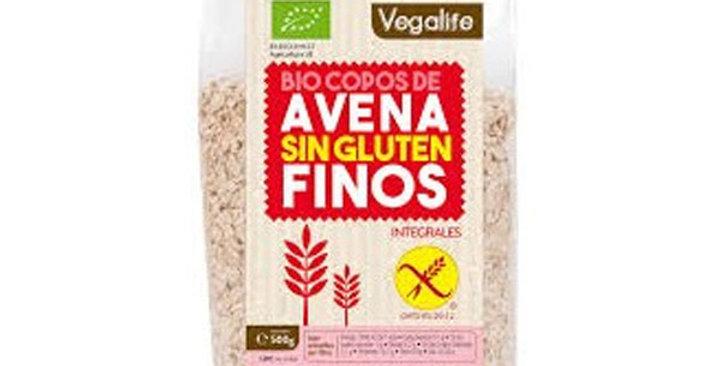 Copos Avena sin Gluten,  Vegalife