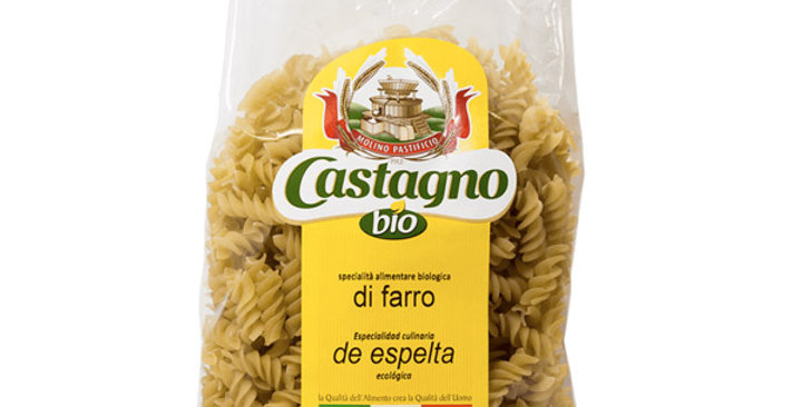 ESPIRALES ESPELTA CASTAGNO 500 GR.