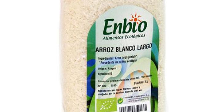 ARROZ BLANCO LARGO ENBIO 1KG.