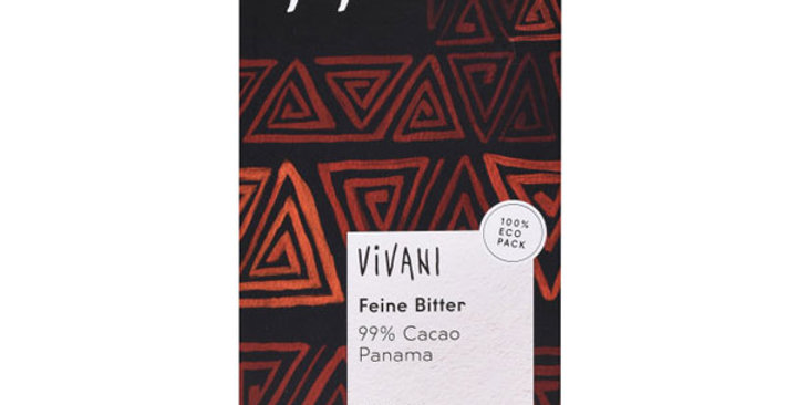 Chocolate 99% , Vivani 80 gr.