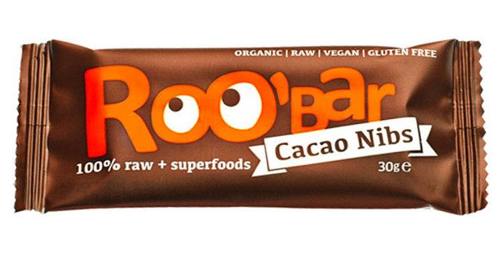 Barrita Raw de Pepitas de Cacao