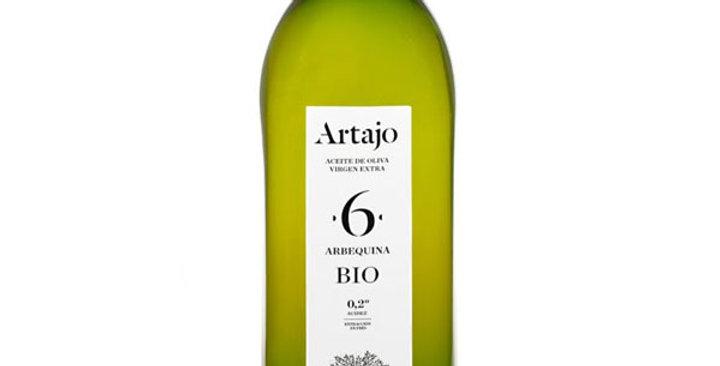 ACEITE DE OLIVA VIRGEN EXTRA 6 ARBEQUINA ARTAJO 1L.