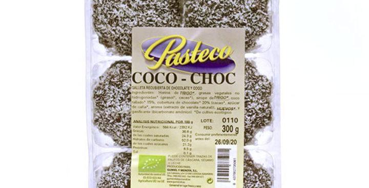 GALLETAS COCO-CHOC PASTECO 300 GR.