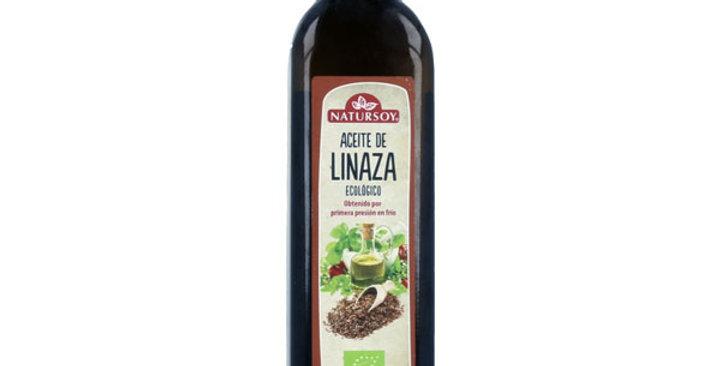 Aceite de linaza natursoy 500 ml.