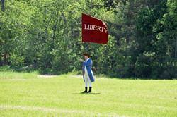 Mason with flag.jpg