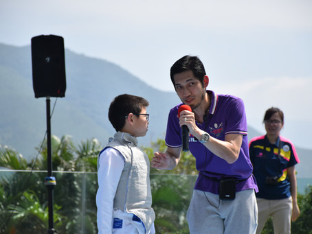 Champion Maker! It's all about the Fencing Coach !  劍擊教練才是關鍵!