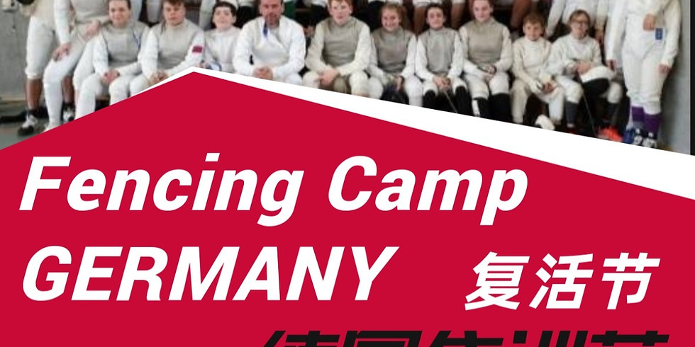Germany Fencing Camp in Easter