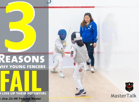 3 Reasons why young fencers Fail to Live Up to their Potential