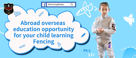 E-Class  LIVE: Overseas Opportunities for Fencing Child