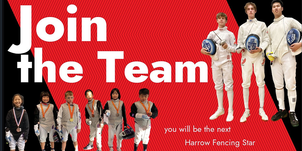 LOWER (Year 1 -5) AUTUMN 2021 Fencing Class 3.30pm